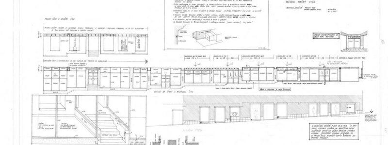 Adaptacija na Kidričevi ulici Koper, delovni načrt 1:50