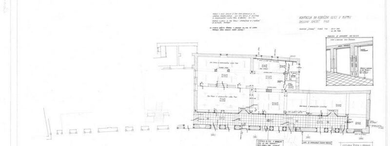 Adaptacija na Kidričevi ulici v Kopru, delovni načrt, 1:50