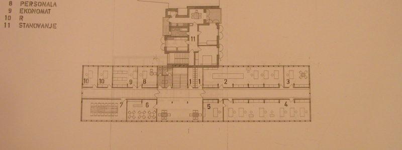 Narodna banka Koper - 11. Nadstropje M 1:100