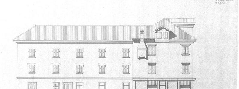 Fasada, Tominčeva ulica