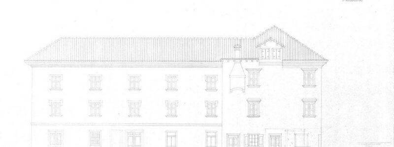 Fasada, Tominčeva ulica, obstoječe stanje