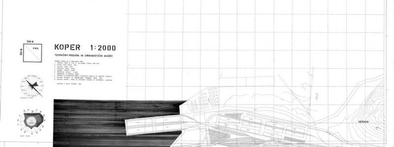 Koper, tehnična podlaga in urbanistični načrt