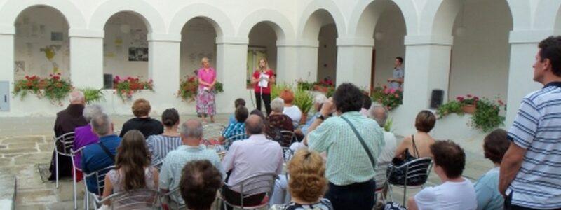 Odprtje razstave v samostanu sv. Ane v Kopru