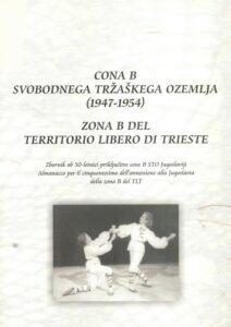Cona B, zbornik, naslovnica