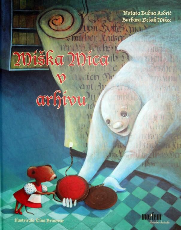 Miška Mica v arhivu, naslovnica