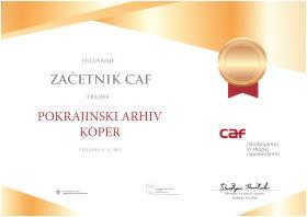 Priznanje CAF